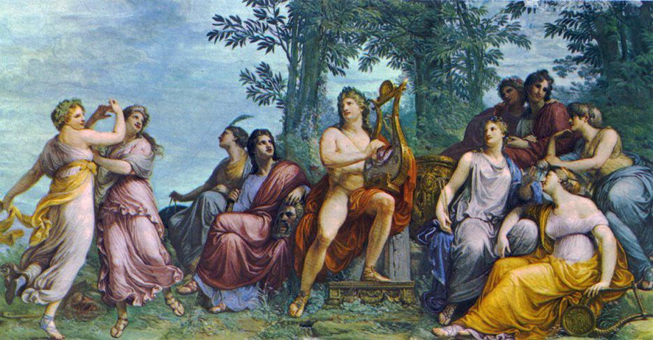 Apollo i Muzy