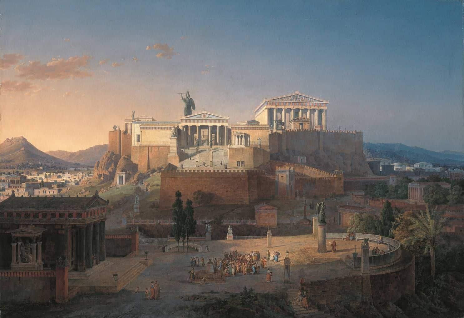 Atena na Akropolu