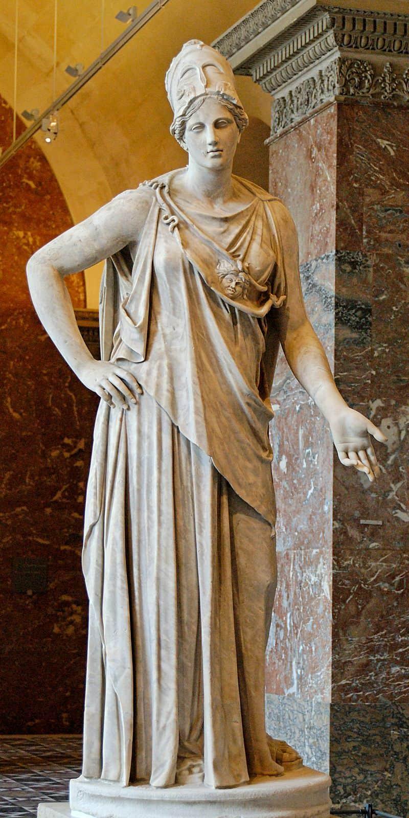 Atena - najpopularniejsza grecka bogini