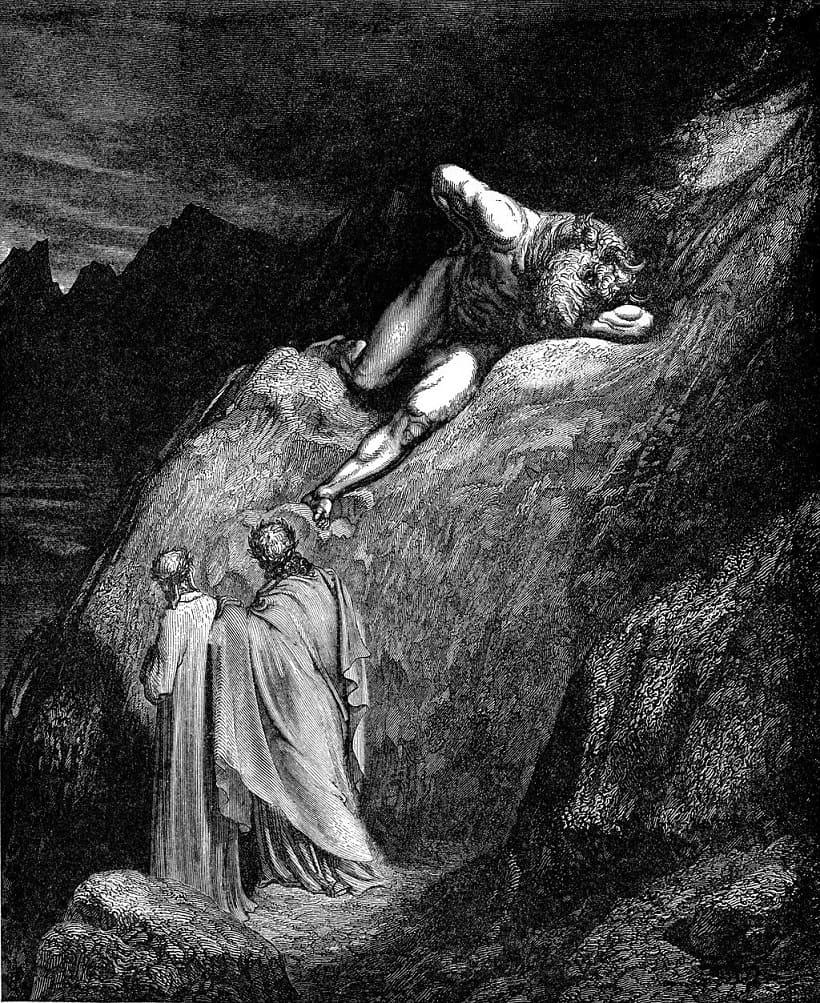 Dante i Minotaur