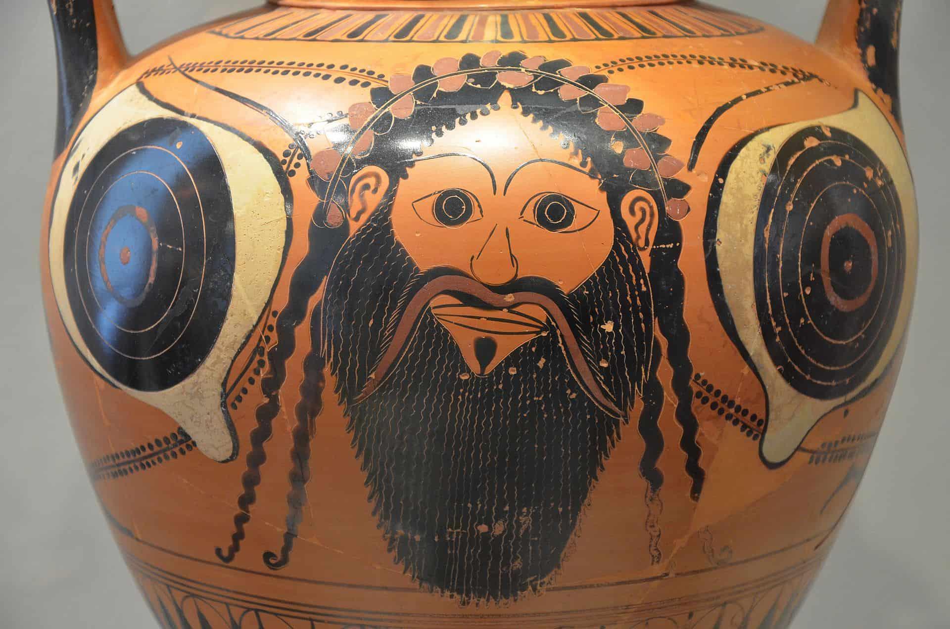 Dionizos na amforze