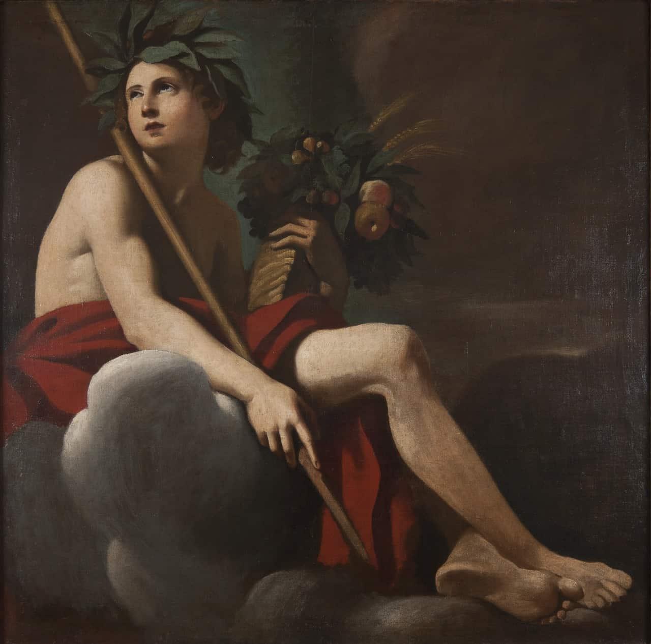 Dionizos z winoroślą