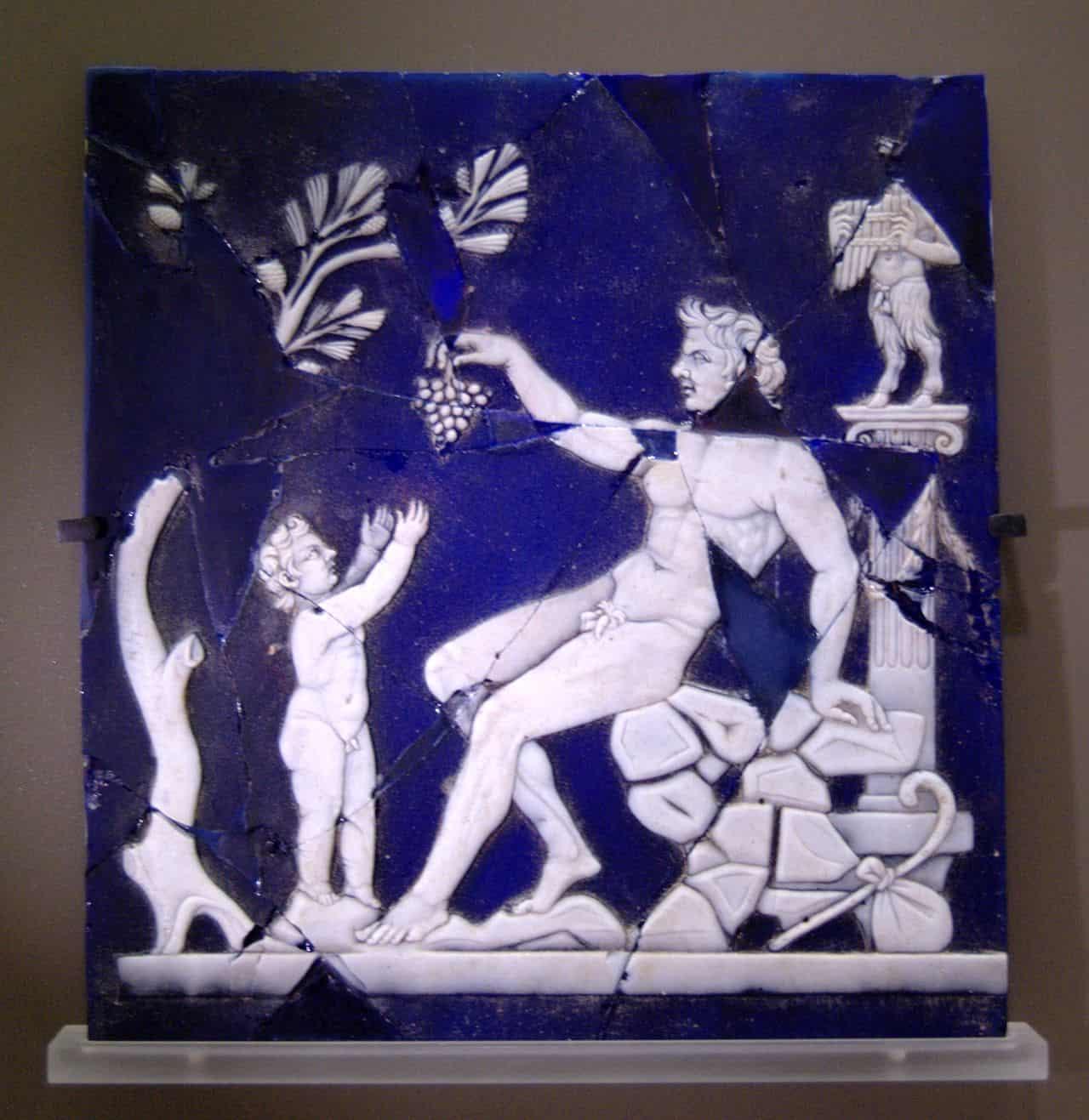 Dionizos winorośl