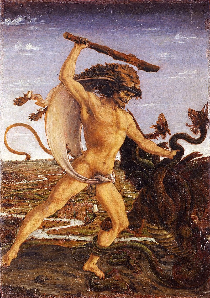 Herakles i hydra