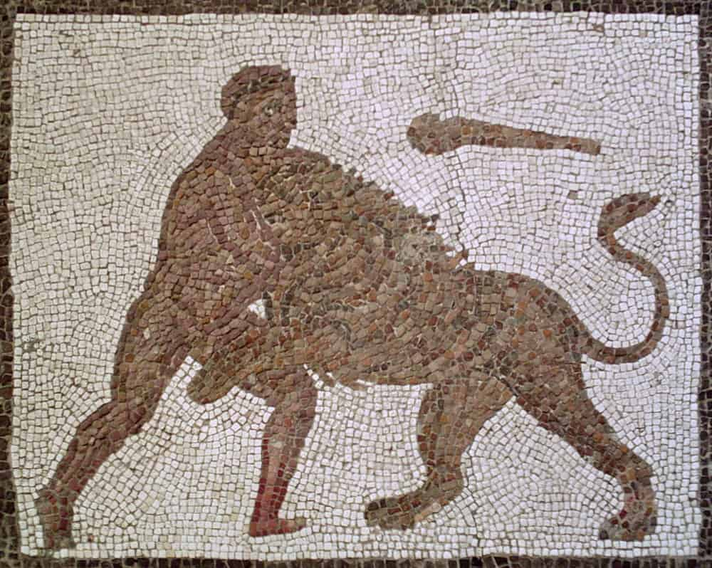 Dwanaście prac Heraklesa - Mitologia grecka