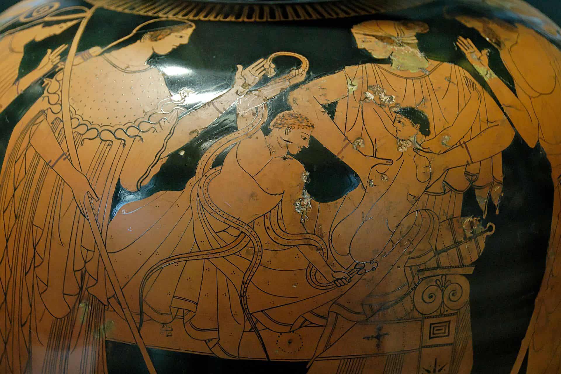 Herakles i węże