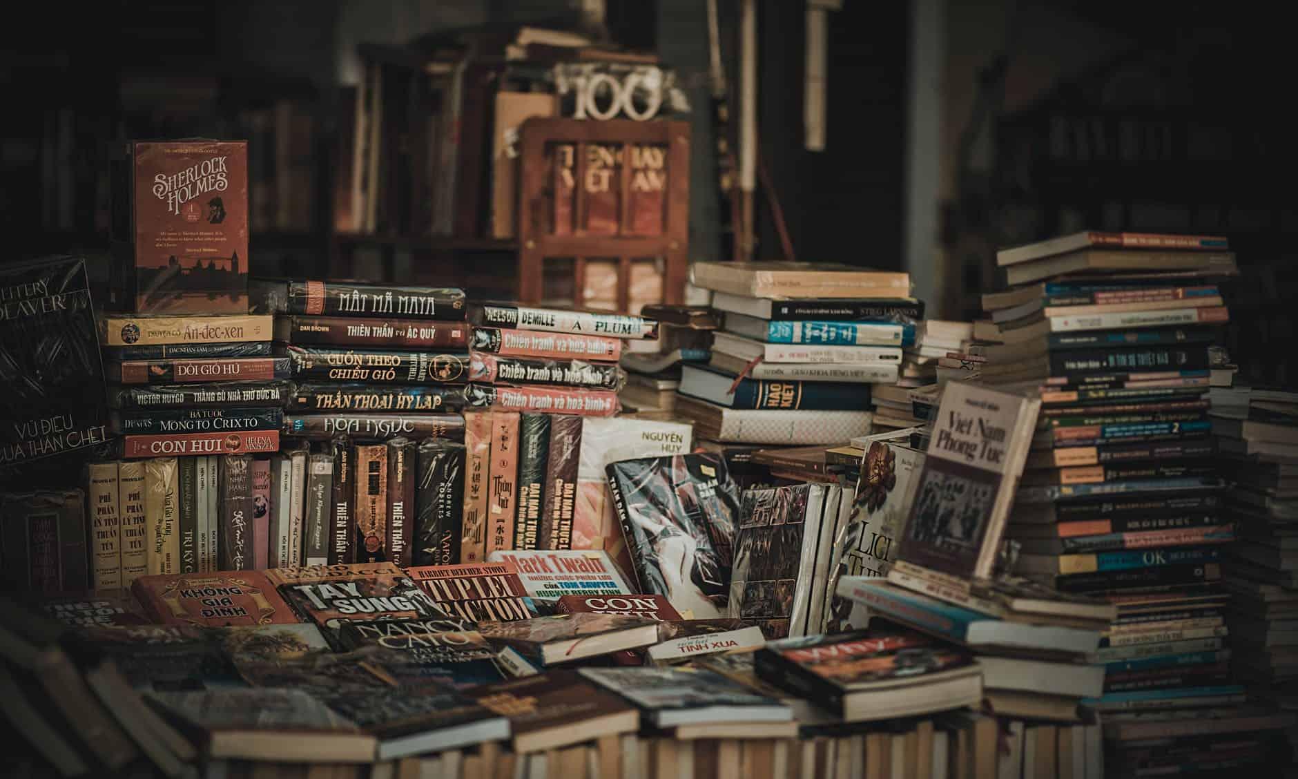 Książki z drugiej ręki - sprzedaj i kup
