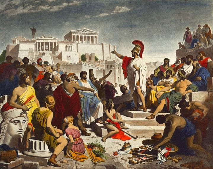 Demokracja ateńska: podstawowe informacje o ustroju Aten doby klasycznej