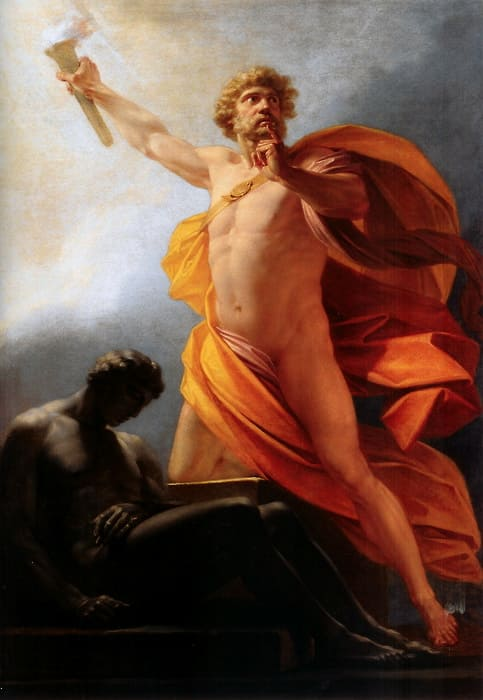 Prometeusz kradnie ogień