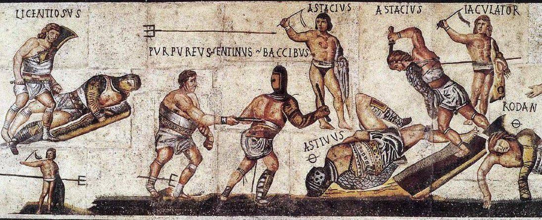 Gladiatorzy Rzym